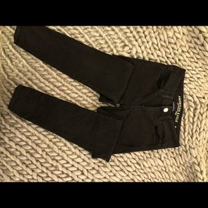 AEO black Jegging. Never worn. NWOT.